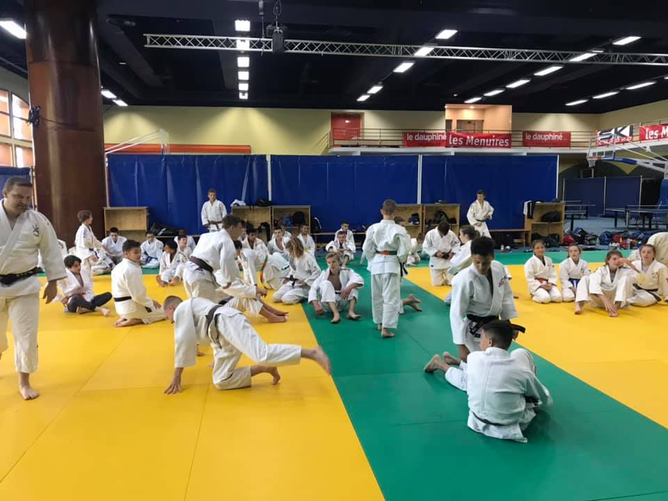 Stage judo aux Menuires