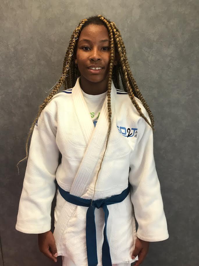 Ayhlète judo Jaëlyn Chipan