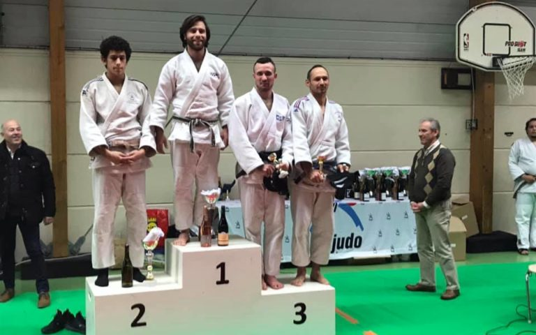 Tournoi Saint Pourçain 2020 podium 73kg