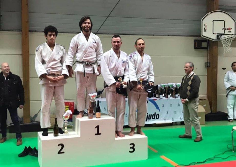 Tournoi Saint Pourçain 2020 podium 73kg